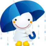 あいにくの雨・・・